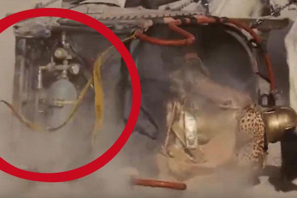 Gazapo en la película Gladiator.