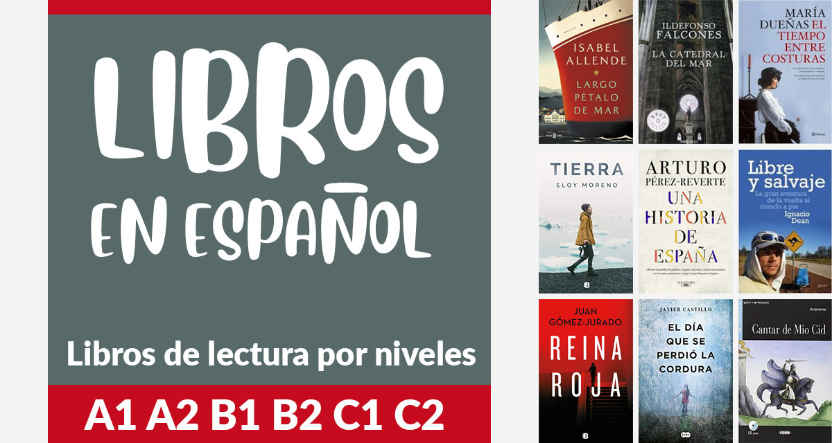 Libros de lectura en español