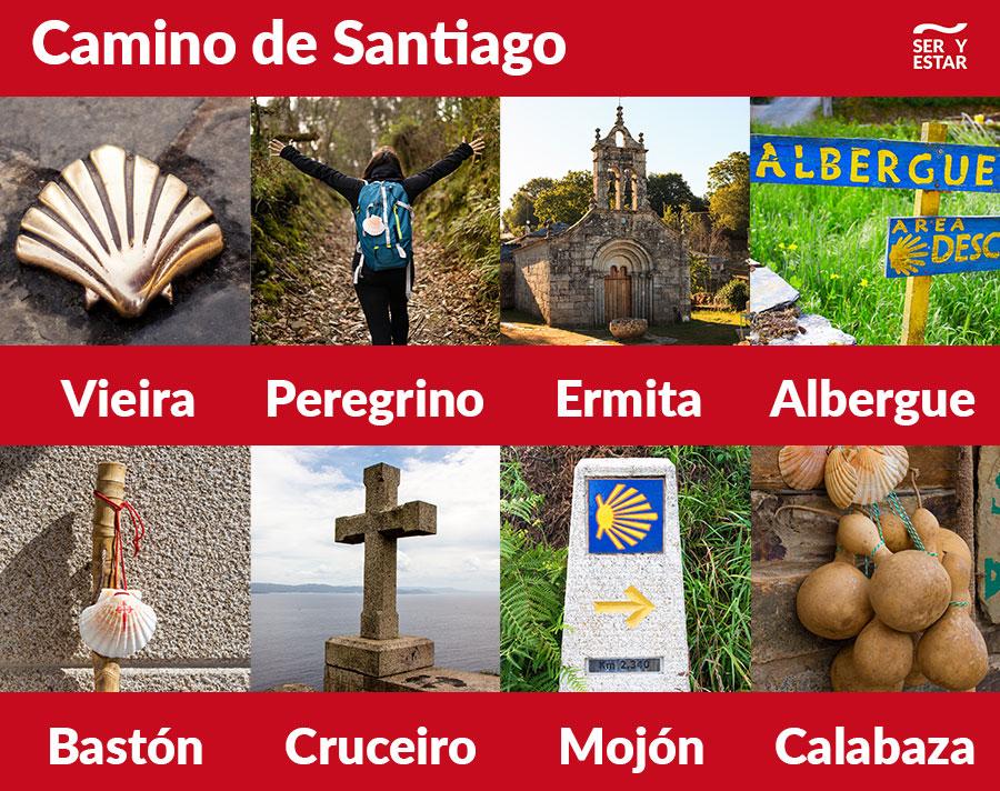 vocabulario Camino de Santiago